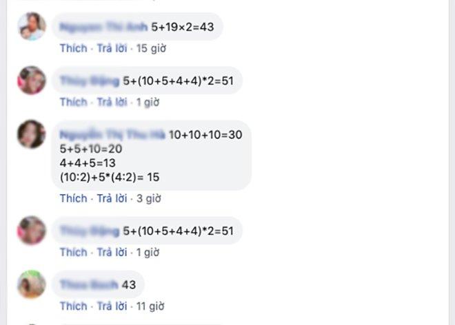 Nghỉ ở nhà chơi giải đố, đây là bài toán hot nhất trên mạng, tưởng dễ làm mãi vẫn sai-4
