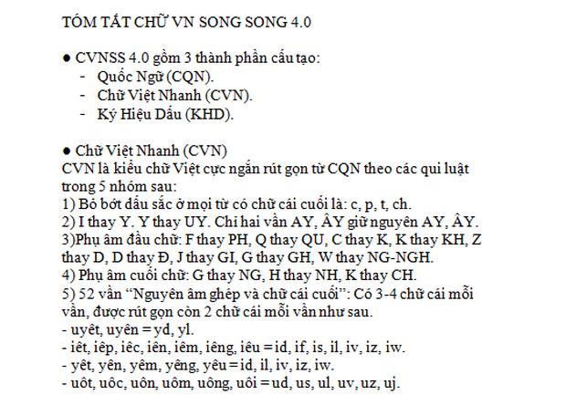 """Bị phản đối kịch liệt, tác giả Chữ Việt Nam song song 4.0"""" lên tiếng: Chỉ mất 3 buổi học là thành thạo kiểu chữ mới này-6"""