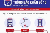 Bộ Y tế ra thông báo khẩn liên quan đến 3 bệnh viện ở Hà Nội