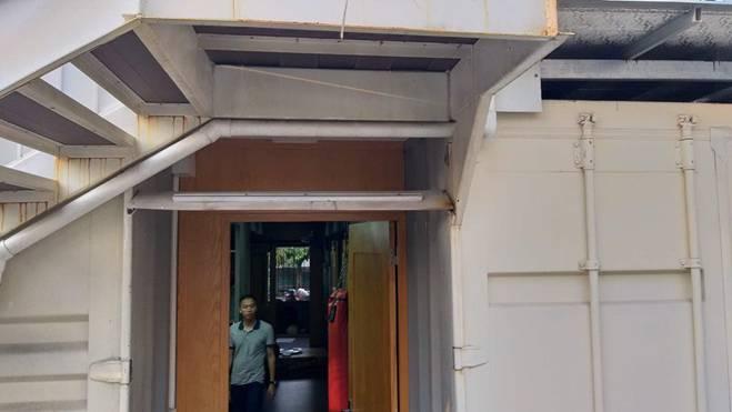 Chiêm ngưỡng ngôi nhà làm từ hai thùng container giữa thành phố Hà Tĩnh-10