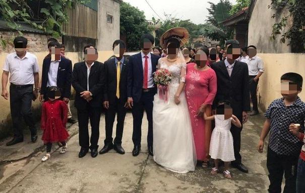 60 người dự tiệc cưới giữa mùa dịch Covid-19 ở Thanh Hóa-1