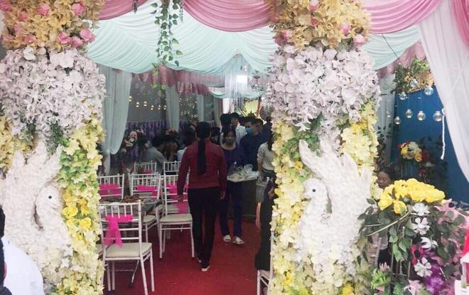 60 người dự tiệc cưới giữa mùa dịch Covid-19 ở Thanh Hóa-2