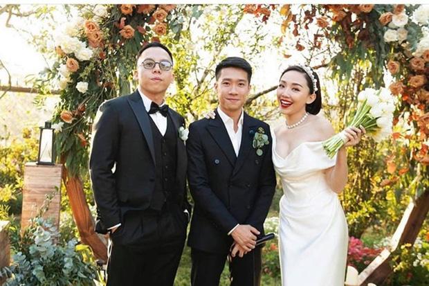 Cô dâu Tóc Tiên lần đầu đăng ảnh chồng Touliver sau 2 tháng đám cưới, vợ chồng son chưa chi đã đổi nghề mùa dịch?-4