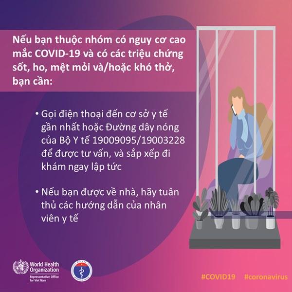 Bộ Y tế và WHO khuyến cáo: Những việc quan trọng cần phải thực hiện ngay nếu bạn thuộc nhóm nguy cơ cao nhiễm COVID-19-4