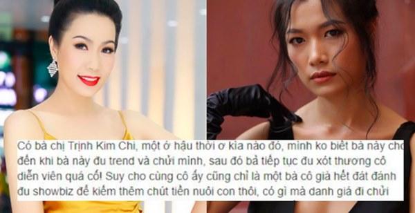 Con gái Trịnh Kim Chi lên tiếng chuyện mẹ bị Trà My mỉa mai bằng những ngôn từ gây phẫn nộ-1
