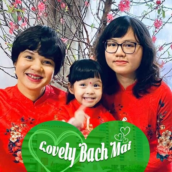 Ít khi chia sẻ chuyện gia đình, MC Diễm Quỳnh đã hé lộ ảnh hiếm hoi về 2 con gái trong lúc kêu gọi phòng chống dịch-2