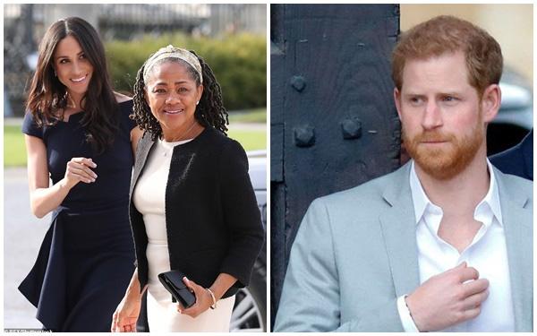 Meghan Markle bị cho là không quan tâm gia đình nhà chồng khi cấm Harry về Anh nhưng đối với mẹ đẻ lại trái ngược hoàn toàn-1