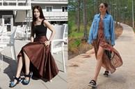 Diện lên cực trẻ và 'chơi', bảo sao Song Hye Kyo lẫn Hà Tăng đều tích cực lăng xê mẫu sandal thô kệch này