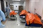 Hình ảnh đau thương tại tâm dịch New York: Thi thể nạn nhân COVID-19 'xếp hàng' chật hành lang bệnh viện