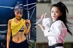'Hot girl taekwondo' Châu Tuyết Vân khoe bụng 6 múi nhờ ở nhà mùa dịch