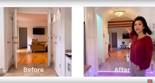 MC Kỳ Duyên khoe nhà gần biển mới tậu: Phòng khách siêu rộng, phòng ngủ ấm cúng, sang trọng-2