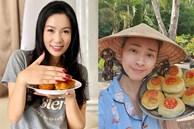 Cả showbiz hóa 'Master Chef', Trịnh Kim Chi làm bánh cháy thành than vẫn được chồng khen