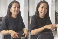 Khoảnh khắc Mai Phương trước khi mất cố gắng tươi cười trêu con gái thích Ngô Kiến Huy vì trùng tên với bố gây xúc động