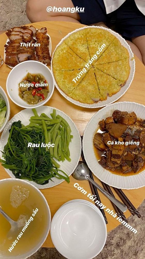 Mâm cơm trong những ngày cách ly xã hội của nghệ sĩ Việt-10