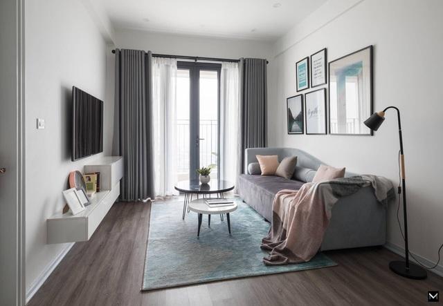 Vợ chồng trẻ ở Hà Nội biến đổi kỳ diệu cho căn chung cư chỉ với 170 triệu-2