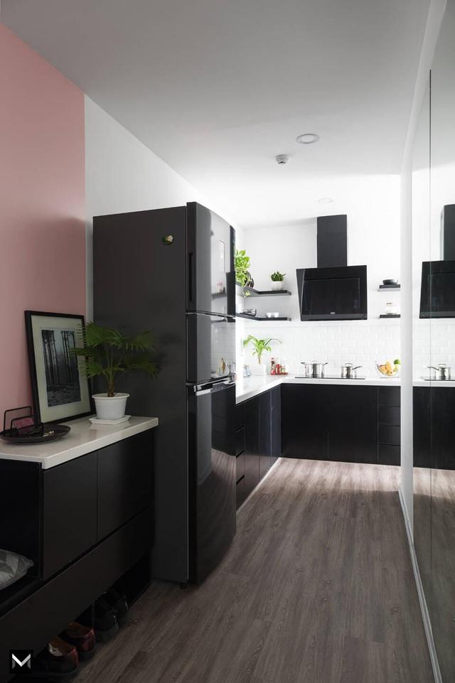 Vợ chồng trẻ ở Hà Nội biến đổi kỳ diệu cho căn chung cư chỉ với 170 triệu-5
