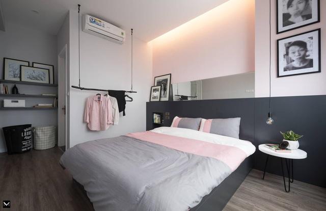 Vợ chồng trẻ ở Hà Nội biến đổi kỳ diệu cho căn chung cư chỉ với 170 triệu-7