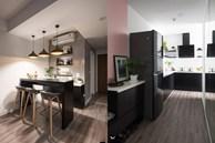 Vợ chồng trẻ ở Hà Nội biến đổi 'kỳ diệu' cho căn chung cư chỉ với 170 triệu