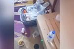Vứt rác bừa bãi, không xả toilet dù được cách ly ở khách sạn