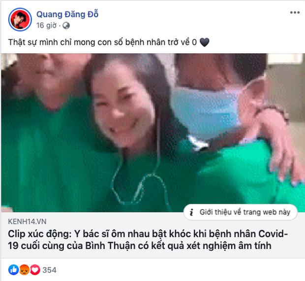 Sau chia sẻ gây xôn xao của Thái Trinh về chuyện tình cũ, Quang Đăng đã có động thái mới trên MXH-2