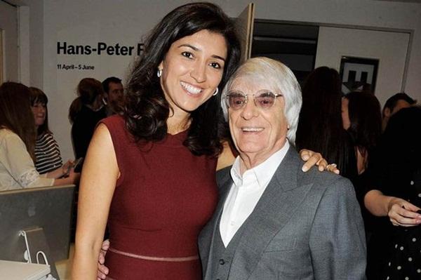 Tỷ phú Bernie và cô Fabiana kết hôn năm 2012.