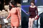 Vợ kém 17 tuổi của So Ji Sub thích mặc váy bó sát khoe dáng thon gọn