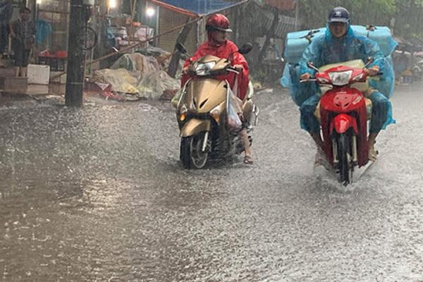 Thời tiết hôm nay 8/4: Trung Bộ, Nam Bộ đề phòng mưa đá-1