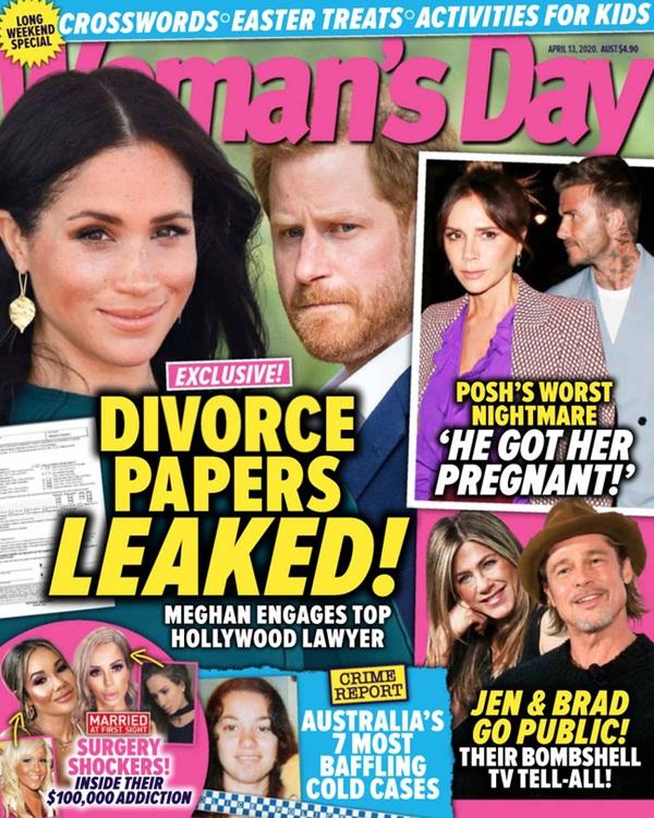 Vừa đến Mỹ sinh sống, vợ chồng Meghan Markle lại dính nghi vấn rò rỉ giấy tờ ly hôn?-1