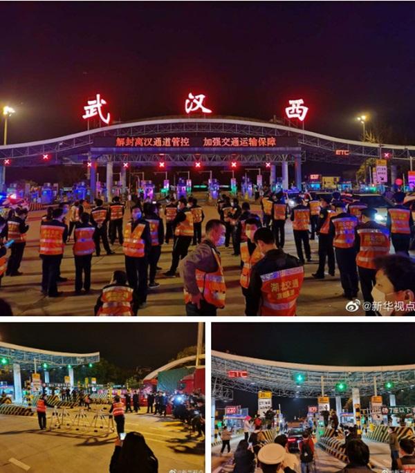Khoảnh khắc lịch sử của TQ: Vũ Hán dỡ bỏ lệnh phong tỏa sau 76 ngày chống dịch Covid-19, hàng vạn người lên đường rời khỏi thành phố-3