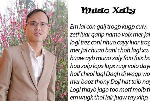 Cha đẻ bộ Chữ Việt Nam song song 4.0: Dân mạng ném đá, giễu cợt, trêu chọc rất nhiều-1