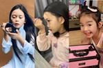 Con gái mỹ nhân Việt bé tí đã sành sỏi làm điệu