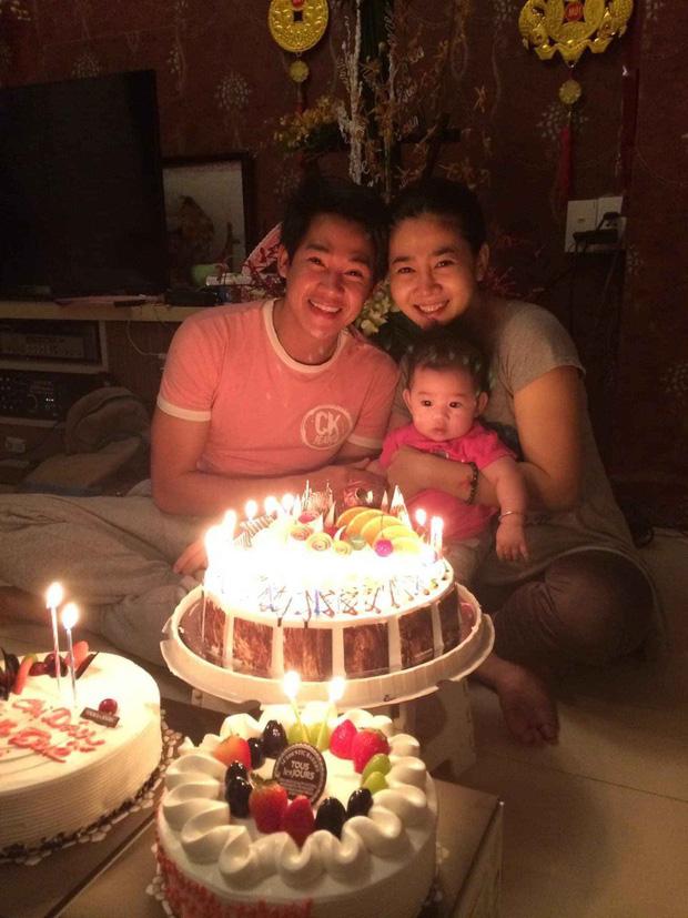 Nghẹn ngào hình ảnh gia đình hạnh phúc hiếm hoi của Phùng Ngọc Huy và cố diễn viên Mai Phương: Nụ cười nói lên tất cả!-1