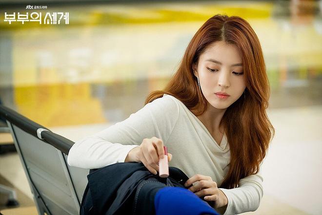 Mang tiếng dùng chung son với chị đẹp Son Ye Jin nhưng cô nàng tiểu tam của Thế Giới Hôn Nhân lại gây thất vọng bởi đôi môi khô tróc vẩy-6