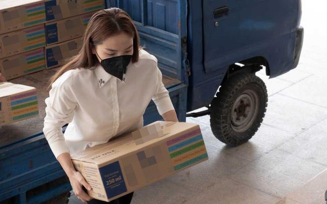 Sau hàng loạt sao Việt, Hoa hậu Kỳ Duyên cũng đã có hành động ý nghĩa này gửi tới các chiến sĩ biên phòng giữa mùa dịch-1