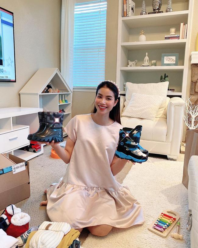 Nghi vấn Phạm Hương đã mang thai lần 2 khi lộ bụng to bất thường-2