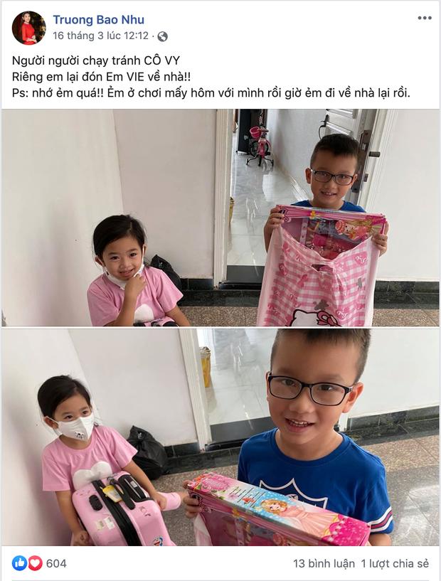 2 tuần trước khi nghệ sĩ Mai Phương mất, Phùng Ngọc Huy đã có động thái đầy ý nghĩa với người bạn chăm sóc bé Lavie-2