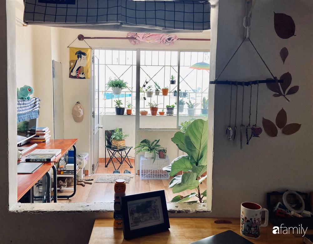 Nghỉ ở nhà dài ngày, chàng trai Sài Gòn biến ban công 4m² nhàm chán thành khu vườn xanh mướt đủ loại cây-3