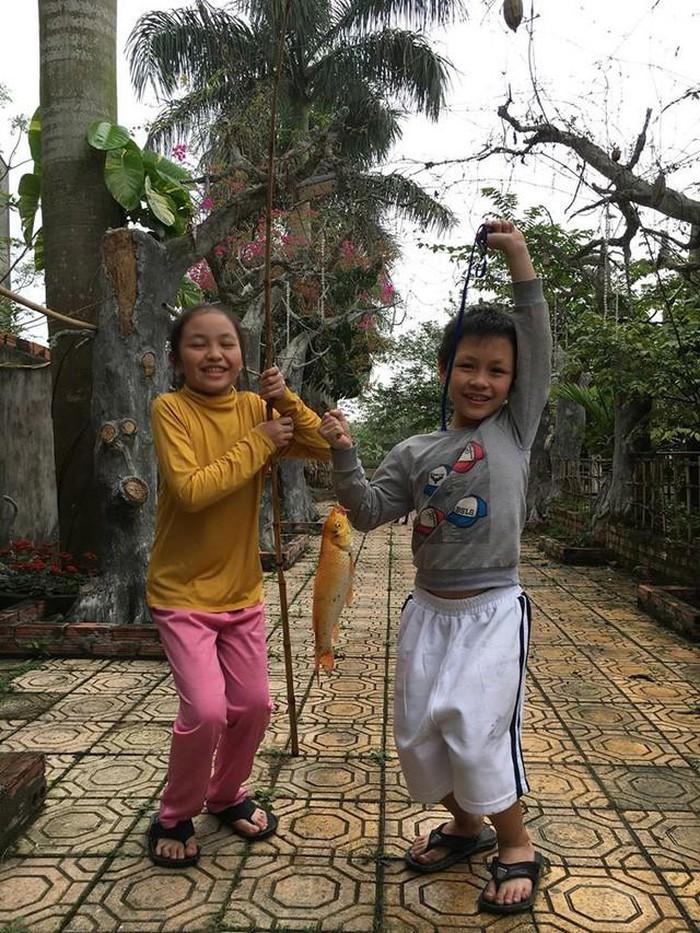 Nhà vườn 10.000m2 của nghệ sĩ Giang còi ngập hoa và trái cây-26