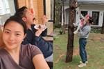 'Trốn dịch' ở biệt thự Đà Lạt, Phan Như Thảo trổ tài nữ công gia chánh cùng chồng