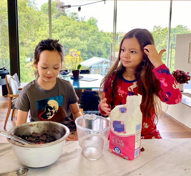 Diva Hồng Nhung khoe ảnh 2 nhóc tỳ mừng sinh nhật 8 tuổi: Công chúa nhỏ chiếm trọn spotlight vì nét đẹp đầy tiềm năng-1