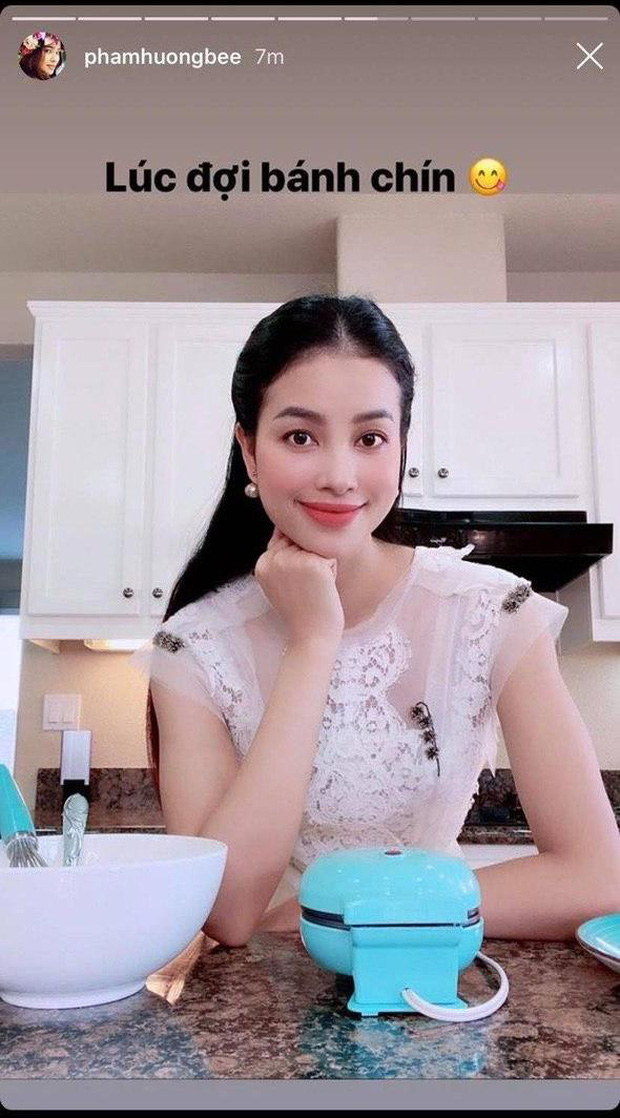 """Thánh soi bắt quả tang"""" chi tiết sai sai trong ảnh sống ảo của Phạm Hương, chính căn bếp vô tình nói lên tất cả-2"""