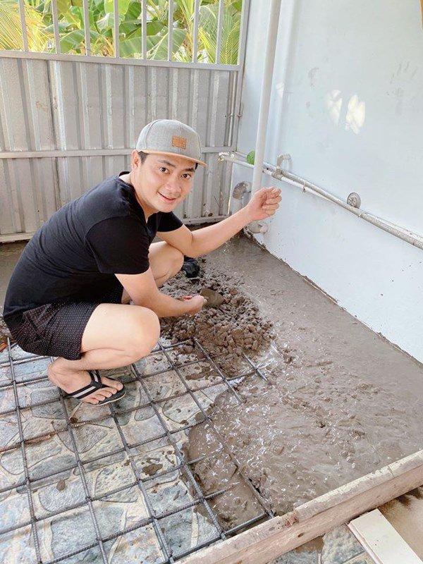 Showbiz đóng băng, Minh Luân bỏ phố về quê cải tạo nhà vườn rộng 3.000m2-4