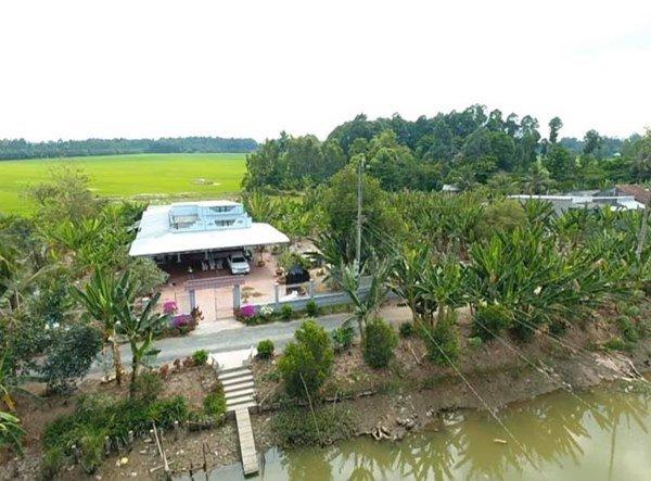 Showbiz đóng băng, Minh Luân bỏ phố về quê cải tạo nhà vườn rộng 3.000m2-6