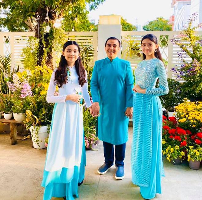 Các con của Quyền Linh ngày ấy - bây giờ: Mới 15 tuổi đã xinh như hoa hậu, nhà giàu nhưng được bố dạy theo cách chẳng giống ai-2