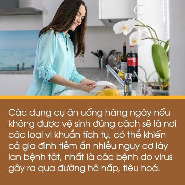 TS. Từ Ngữ: Thói quen nào khi rửa bát, đũa tiềm ẩn nguy cơ lây lan dịch bệnh?-2