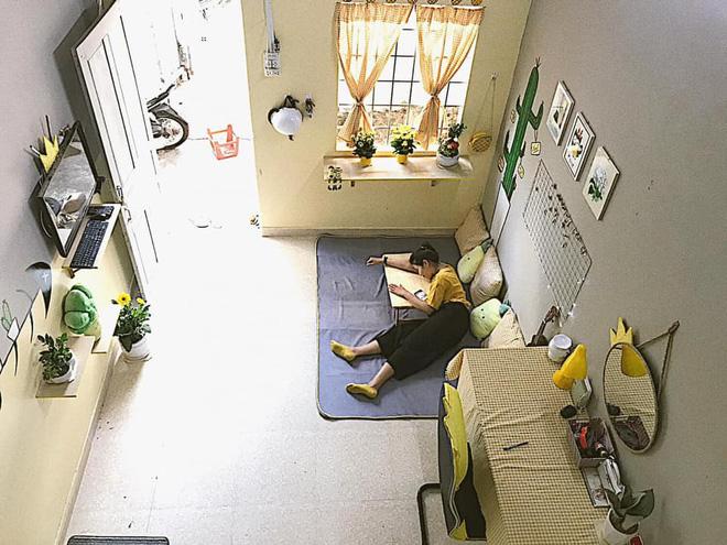 Nhìn thành quả cải tạo lại phòng của dân tình nhân dịp ở nhà mới thấy: Hết dịch khéo đi làm home designer hết-34