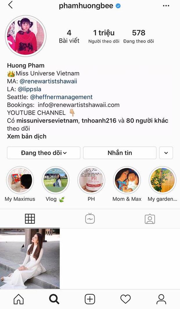 Sau loạt đồn đoán đời tư, Phạm Hương xoá sạch ảnh trên Instagram chỉ để lại 1 khoảnh khắc đặc biệt, chuyện gì đây?-1