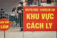Hà Nội: Ghi nhận ca thứ 5 nghi dương tính SARS-CoV-2 tại ổ dịch thôn Hạ Lôi
