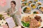Kín tiếng bao năm, Hoa hậu Nguyễn Thị Huyền giờ chăm khoe tài nấu ăn cho cả đàn con
