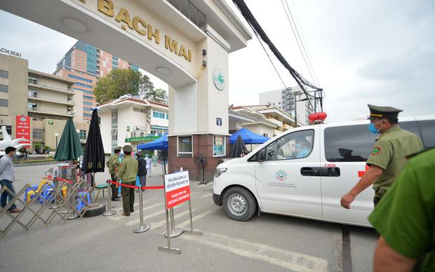 Bệnh viện Bạch Mai được dỡ bỏ phong toả từ 0h đêm nay-1